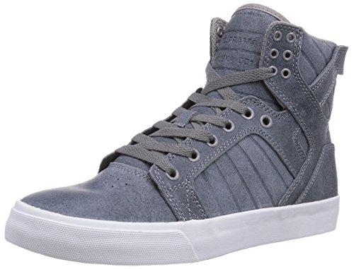 Supra Skytop, Baskets Homme - Bleu (slate Blue - White  Slt), 46 EU Bleu (slate Blue - White   Slt)