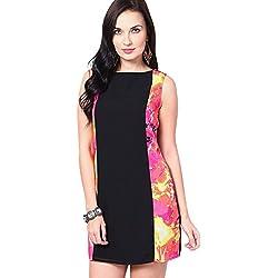 VERO MODA Women's A-Line Dress (10111262_Black_S)