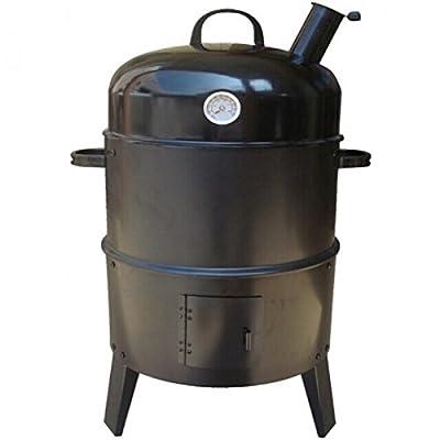Unbekannt Räuchertonne BBQ Smoker Grill Räucherofen Räucherschrank Räuchergrill Fisch Fleisch