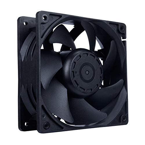 12V 4000RPM 7-Blade Mining Machine Cooling Fan 120MM Portable Ventilation Fan Miners Power Supply Radiator Fan