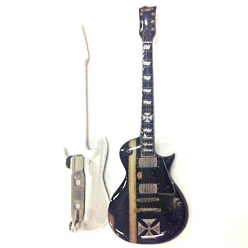 Spilla a forma di chitarra in metallo - Metallica - James Hetfield - Iron Cross