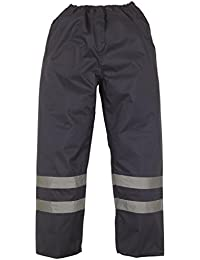 Yoko HVS461 Mens Workwear Reflective High Visibility Waterproof Overtrouser/Pant