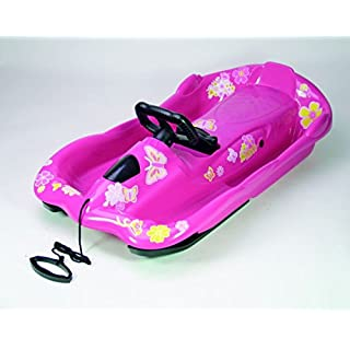 AlpenGaudi Snow Space Pink Sledge- Pack Of 3