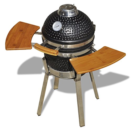 Kamado Barbecue Grill Smoker Ceramic 76 cm