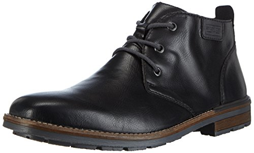 Rieker B1340, Stivali Desert Boots Uomo, Nero (Schwarz/Granit), 46 EU