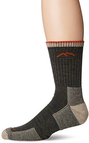 Darn Tough Vermont Micro Crew Sock Cushion 1466 Athletic Socks,Olive,XL (Socken Vermont Aus)