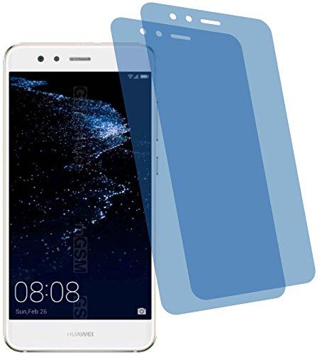 4ProTec 2X Crystal Clear klar Schutzfolie für Huawei P10 Lite Premium Displayschutzfolie Bildschirmschutzfolie Schutzhülle Displayschutz Displayfolie Folie