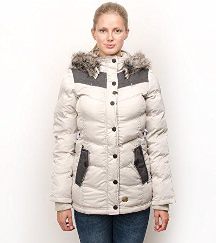 Khujo Munich giacca invernale PES2ICE crème, Frauen:M