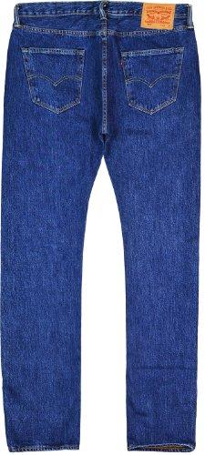 Levi's Herren Jeans 501 Straight Leg normale Länge 30 cm Blau - Dunkelblau
