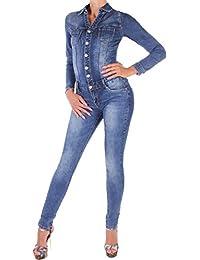 3eee302b7eb10f Suchergebnis auf Amazon.de für: jeans overall damen - Jumpsuits ...