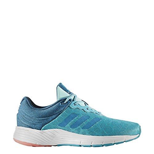 adidas Fluidcloud W, Chaussures de Fitness Femme Multicolore - bleu/rose (Azuene/Petmis/Rostac)