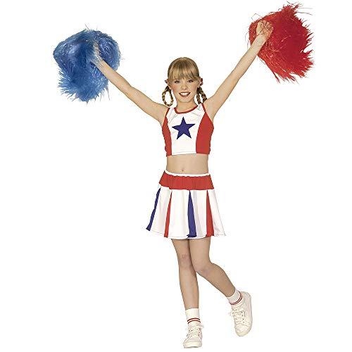 Widmann - Kinderkostüm Cheerleader (Tänzerin Kostüm Kinder)