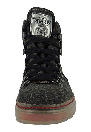 Art Schuhe Stiefel Boot Alpine 20 Black Schwarz - 0800 Black
