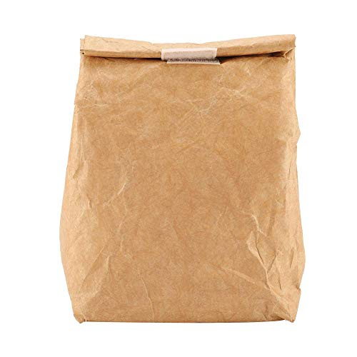 Kitchen,dining & Bar 6l Brown Paper Lunch Bag Environmentally Friendly Reusable Lunch Box Durable Insulated Thermal Kraft Paper Bag Covered Hot Sale Delicacies Loved By All