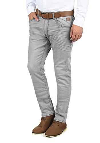 BLEND Taifun Herren Jeans Hose Denim Aus Stretch-Material Slim Fit, Größe:W36/32, Farbe:Denim Grey (76205)