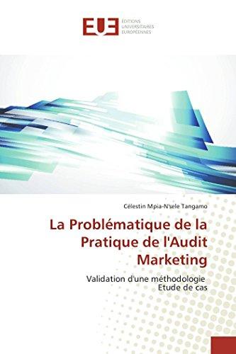 La problématique de la pratique de l'audit marketing par Tangamo-C