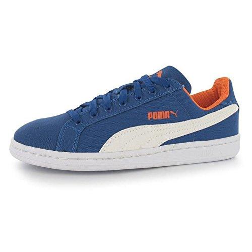 Puma Smash Fun Cv, Baskets Basses garçon Bleu