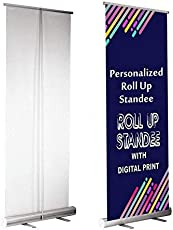 Personalized Roll Up Standee with Banner 3FT X 6FT (Super ECO)