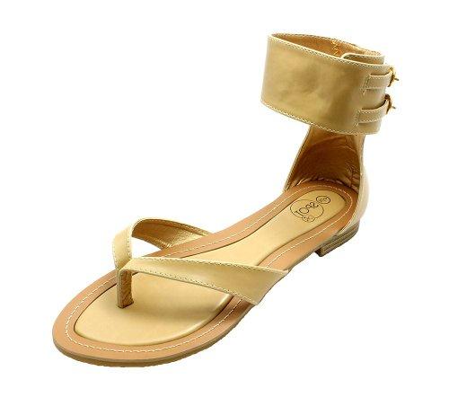 SendIt4Me , Sandales pour femme Beige beige Beige