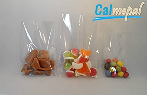 CLEAR CELLOPHANE CELLO DISPLAY BAGS FOR LOLLIPOPS, CAKE POPS, SWEETS