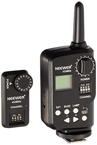 Neewer 433 MHz Wireless 16 Channel Flash Remote Trigger with Receiver for TT850/TT860/V850/V860