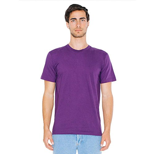American Apparel - Unisex Fine Jersey T-Shirt Eggplant