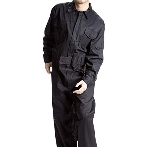 RoadRomo Cotton Nere Completamente Tuta Uomo Abbigliamento da Lavoro Vernice Vestiti da Lavoro