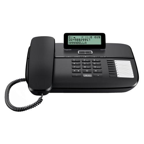 Gigaset DA710 Noir Téléphone Fil...