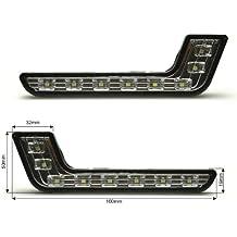 TL05 - L-FORMA DRL POWER SMD LED luces de circulación diurna, lámpara, Faros luz de niebla , Luces de día navegación Iluminación