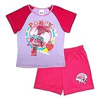 Trolls Girls Pyjamas Set Poppy Shortie Pjs