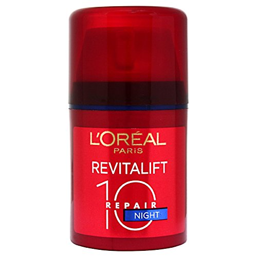 Deep Wrinkle Night Cream (L'Oreal Revitalift Total Repair 10 Multi-Regenerating Night Cream 50ml)