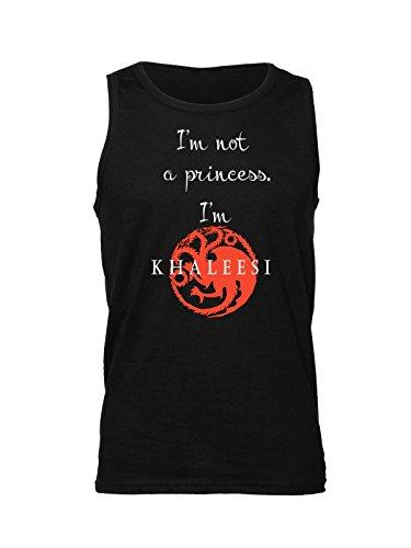 Im-Not-A-Princess-Im-Khaleesi-Camiseta-sin-mangas-para-hombre