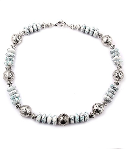 Pearlz Ocean Tweeny Weeny Mosaic Beads 18 Inches Necklace