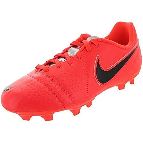 Nike JR CTR360 Libretto III FG Kinder Fussballschuhe bright crimson-black-chrome - 38,5