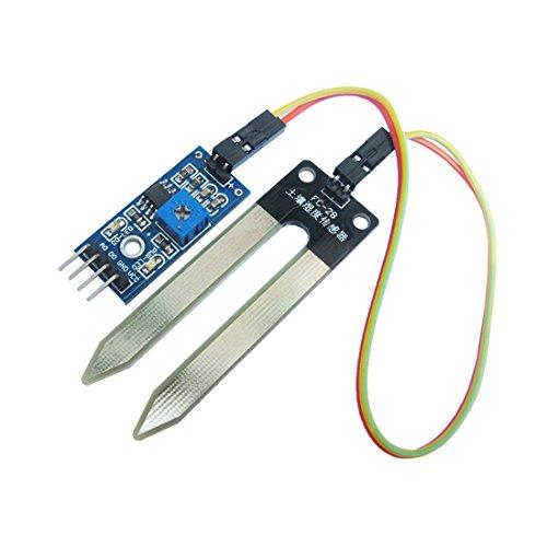 Soil Hygrometer Detection Moisture Wasser Sensor Boden Feuchtigkeitstransport für Arduino -