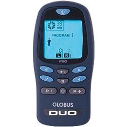 Globus Duo Pro Electrostimulateur Mixte Adulte, Bleu