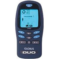 Globus Duo Pro - Estimulador muscular electrónico (AAA, 1,5V, LCD) Azul