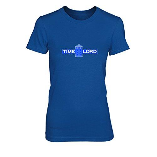 Time Lord - Damen T-Shirt Blau