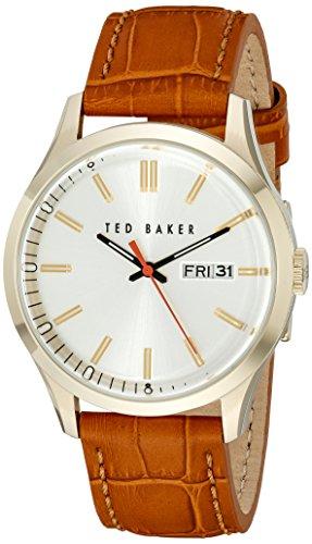Ted Baker Men's 10023464 Dress Sport Analog Display Japanese Quartz Brown Watch