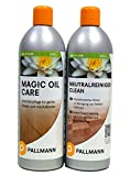 AB.Bauconcept GbR© Kombiangebot Pallmann Neutralreiniger und Magic Oil Care jeweils 0,75 L