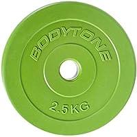 BT BODYTONE Discos de PVC de 28mm de diámetro, 1,25 Kg - 10