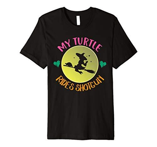 (My Schildkröte Rides Shotgun T-Shirt niedliche Halloween-Kostüm Geschenk)