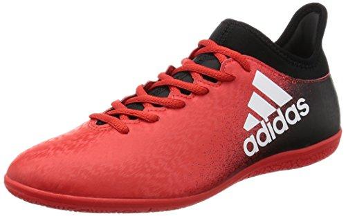Adidas Herren X 16.3 in Futsalschuhe, Mehrfarbig (Red/Ftwwht/Cblack), 42 EU