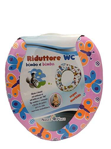 Wc Reducer (WC Adaptor Reductor Baby Toilet Reducer Boy Girl Toilet WC-Adapter Reduzierer WC Reduzierer für Baby-WC Reduzierer für Mädchen für Kinder WC-Abdeckung Weicher Toilettensitz TöpfchenCover (E))