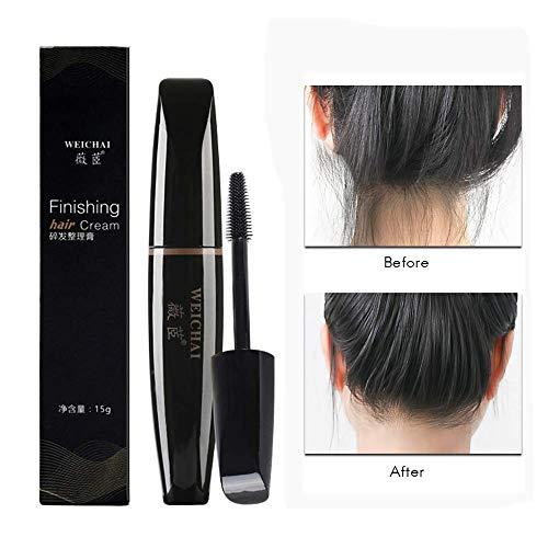 Haar-styling-stick (Hair Finishing Stick Kleine gebrochene Haarcreme Finishing Sticks Kämmende Creme nicht fettig Shaping Gel Cream 15g)