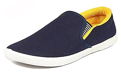 59e14c2dc97 Maddy Men s New Yellow Loafer Shoes  Buy Online at Low Prices in ...