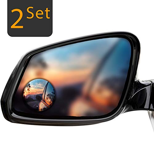 Espejos de Punto Ciego Espejo Retrovisor Exterior Coche Espejo Retrovisor Apto Para Todo Tipo de Veh/ículos