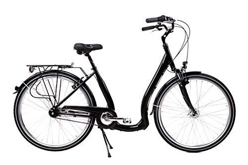 28 Zoll Alu Damen City Bike Easy Boarding Tiefeinstieg 7Gang Shimano Nabendynamo