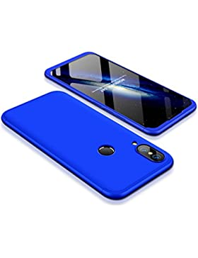 Funda Huawei P20 Lite, Carcasa Huawei P20 Lite Funda 3 in 1 Slim Fit PC Hard Case 360 Grados Integral Protectora...