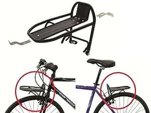 fahrrad mini gep cktr ger vorne oder hinten alu 24 28 schwarz sport freizeit. Black Bedroom Furniture Sets. Home Design Ideas